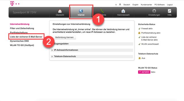 Telekom Router Problemlösung Webmedia